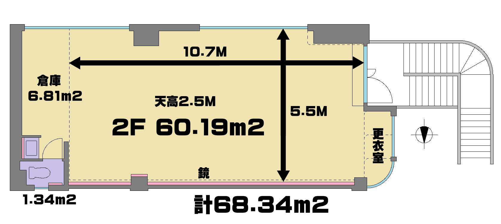 高田馬場スタジオ図面