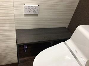 吉祥寺レンタルスタジオのトイレはウォシュレット機能付きの綺麗なトイレです。